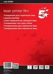 Overheadsheets laserprinter