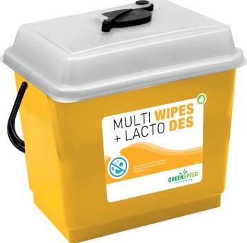 Greenspeed startpakket Multi Wipes (3 x 250 stuks) en Lacto Des (5 l)