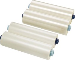 GBC lamineerrol NAP2 ft 635 mm x 75 m, 150 micron (2 x 75 micron), pak van 2 rollen, glanzend