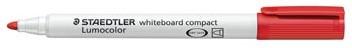 Whiteboard stiften Staedtler Lumocolor Compact rood