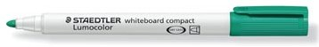 Whiteboard stiften Staedtler Lumocolor Compact groen