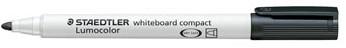 Whiteboard stiften Staedtler Lumocolor Compact zwart
