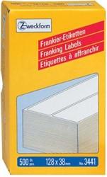 AVERY Frankeeretiketten ft 128 x 38 mm, 500 stuks