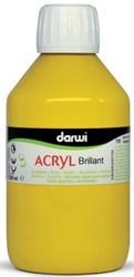 Darwi Glanzende acrylverf donkergeel