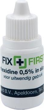 Fixfirst ontsmettingsmiddel op basis van alcohol 10 cc