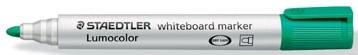 Staedtler Lumocolor whiteboard markers groen