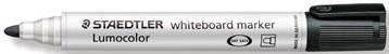 Staedtler Lumocolor whiteboard markers zwart