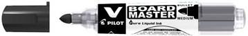 Pilot V board Master whiteboard marker zwart