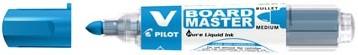 Pilot V board Master whiteboard marker blauw