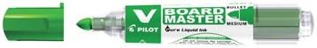 Pilot V board Master whiteboard marker groen