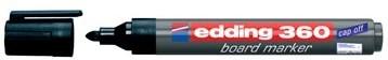 Whiteboard markers Edding e-360 zwart