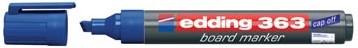 Whiteboard markers Edding e-363 blauw