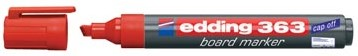 Whiteboard markers Edding e-363 rood