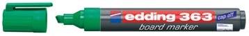 Whiteboard markers Edding e-363 groen