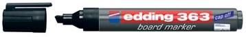 Whiteboard markers Edding e-363 zwart