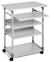 Durable Trolley Computer 75 VH grijs