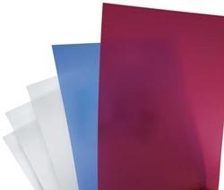 GBC schutblad A4 uit plastic wit 300 micron pak van 100 stuks