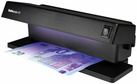Valsgelddetector Safescan 45 UV zwart