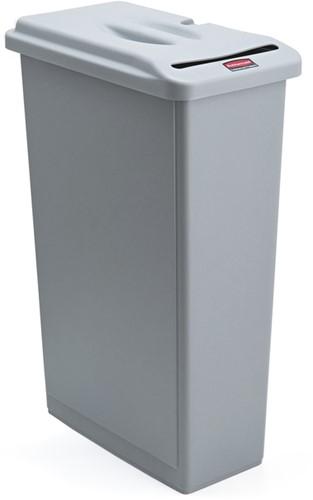 Papiercontainer Rubbermaid Slim Jim voor vertrouwelijke documenten 87 liter