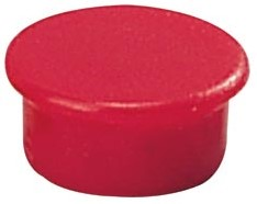 Dahle magneten diameter 13 mm, rood