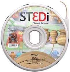 ST3Di Cartridge PLA 750G hout voor St3di Printer