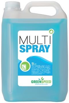 Greenspeed glas- en allesreiniger Multi Spray citrusgeur flacon van 5 liter