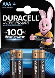 Duracell batterijen Ultra Power AAA, blister van 4 stuks
