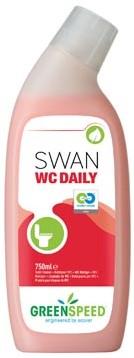 Greenspeed toiletreiniger Swan WC Daily dennenfris flacon van 750 ml