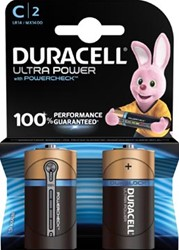 Duracell batterijen Ultra Power C, blister van 2 stuks