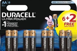 Duracell batterijen Ultra Power AA, LR6