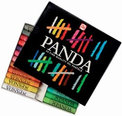 oliepastel Panda Talens 24 pastels