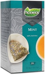 Pickwick Tea Master Selection, munt, pak van 25 stuks
