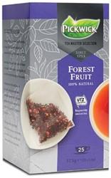 Pickwick Tea Master Selection, bosvruchten, pak van 25 stuks