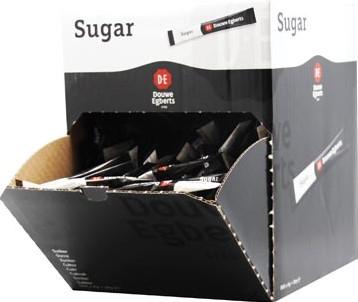 Douwe Egberts suikersticks doos van 500 stuks