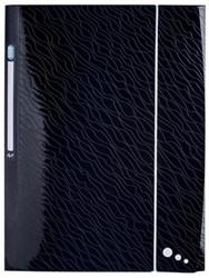 Elba Art Studio elastomap met kleppen, ft A4, uit PP, zwart