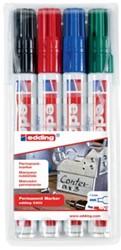 Edding stift 3300 permanent marker geassorteerde kleuren (4)