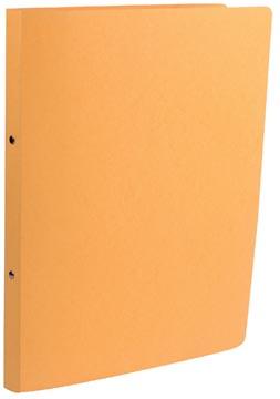 Class'ex ringband geel, voor ft A4, met 2 ringen van 16 mm