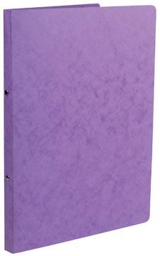 Class'ex ringmap A4 lyonkarton met 2 ringen in kleur lila