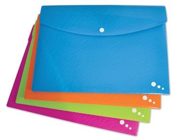 Elba Art Pop documentenmap, ft A4 PP, geassorteerde kleuren
