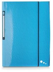 Elba Art Pop elastomap, ft A4, uit PP, blauw