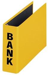 Bankordner A5 (PCR) 14 x 25 cm geel