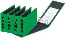 Bankordner A5 (PCR) 14 x 25 cm groen