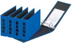 Bankordner A5 (PCR) 14 x 25 cm blauw