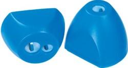 Linex potloodslijper 2 gaats, op blister, blauw