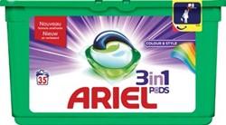 Ariel 3 in 1 wasmiddel pods Color, doos van 35 stuks