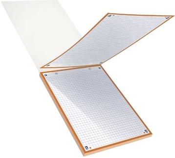 OXFORD BRISTOL 2.0 flashcard 2-gaats 148 x 210 mm geruit 5 mm geassorteerde kleuren pak van 30 vel