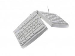 BNEGTWDE BAKKER KEYBOARD DE Adjustable V2 white USB/PS2