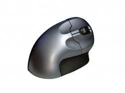 Bakker Elkhuizen ergonomische gripmuis wireless zilver/zwart