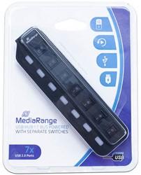 USB Hub 7 poorts USB 2.0 MediaRange