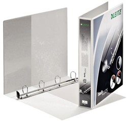 Leitz presentatieringband Leitz SoftClick 4 rings 30mm wit